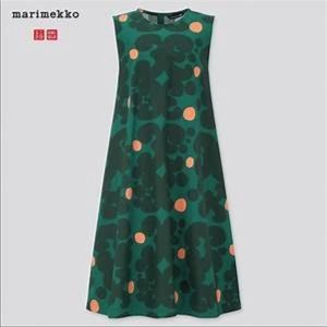 Marimekko A line sleeveless dress by Uniqlo